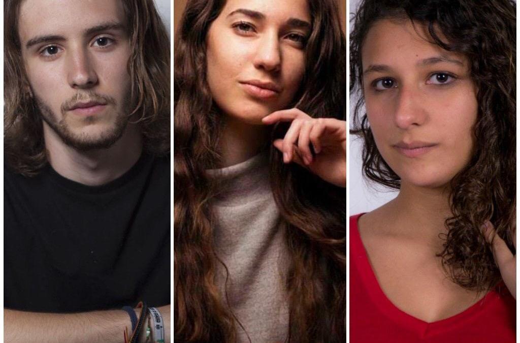 Actores y actrices de La Escuela en la serie MALAKA de TVE