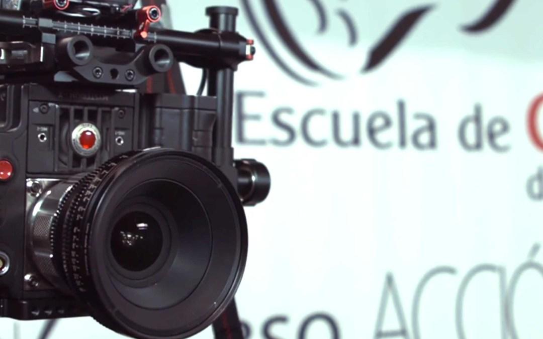 La cámara de cine Epic y el gimbal Ronin llegan a la Escuela de Cine de Málaga