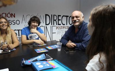 Segundo día de la Segunda Edición del Curso de Cine 4k en la Escuela de Cine de Málaga