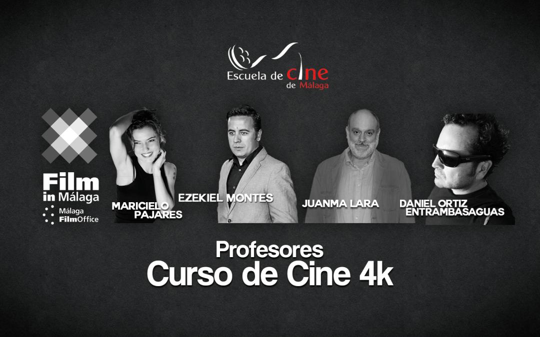 Confirmados los profesores de la Segunda Edición del Curso de Cine 4k