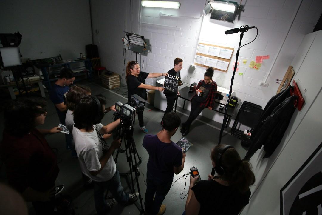 rodaje spoler cortometraje alberto garcia alumno escuela de cine de malaga4er