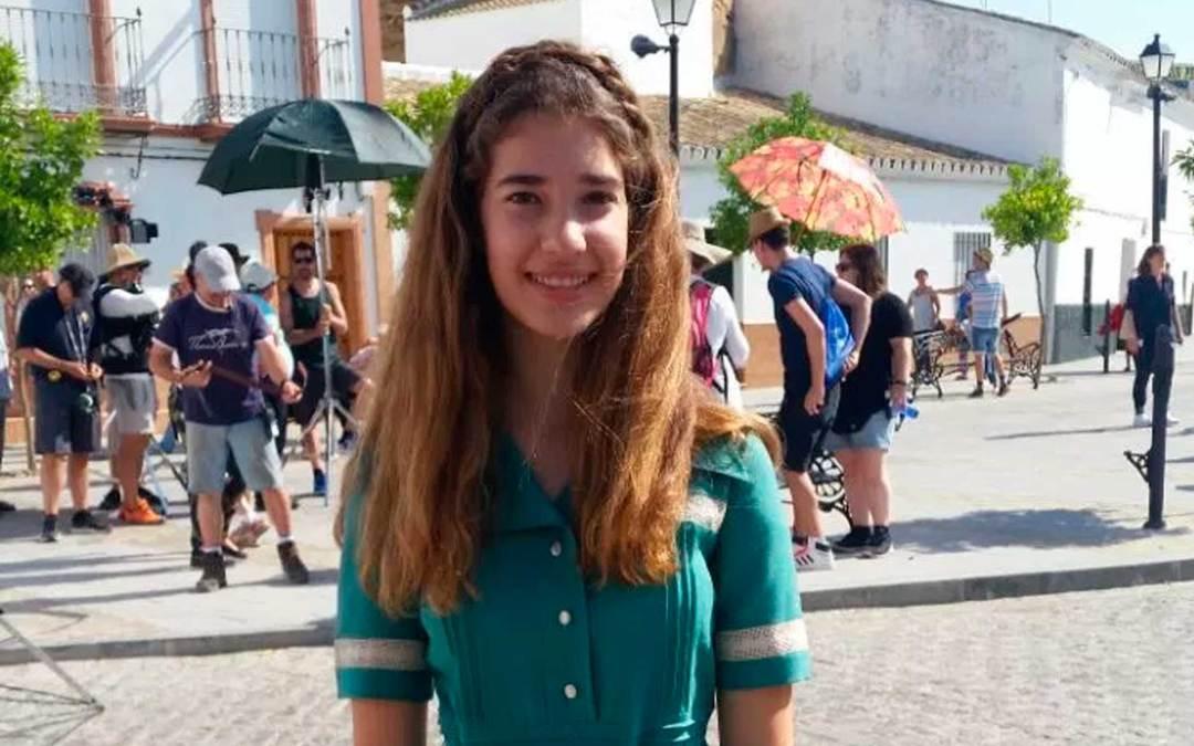Una alumna de la Escuela de Cine de Málaga ha participado en la nueva película de Almodóvar