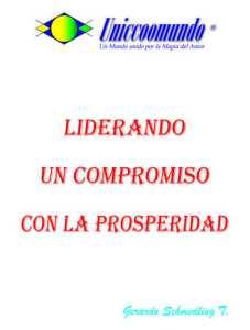 Liderando un compromiso con la prosperidad