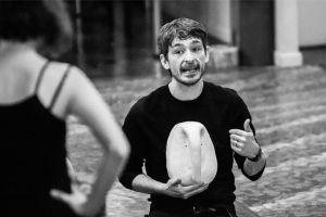 Máscaras teatrales. Escuela de Teatro Arturo Bernal