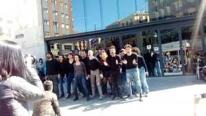 Espectáculo Éxodos. Teatro de calle. Día Mundial del Teatro 2019 Madrid
