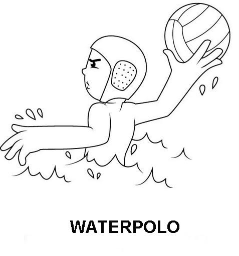 Jjoo De Londres 2012 Dibujos De Deportes Para Colorear
