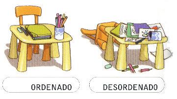ORDENADO-DESORDENADO