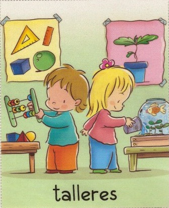 Image result for talleres infantiles, letrero