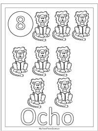 Numeros Para Colorear Del 10 Al 20 Numeros Del 10 Al 20