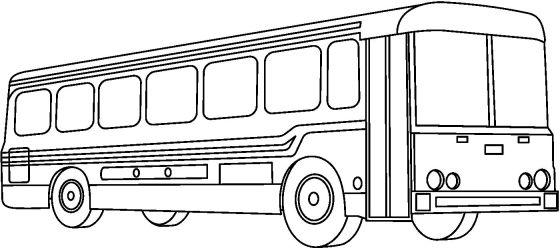 4autobuses para colorear
