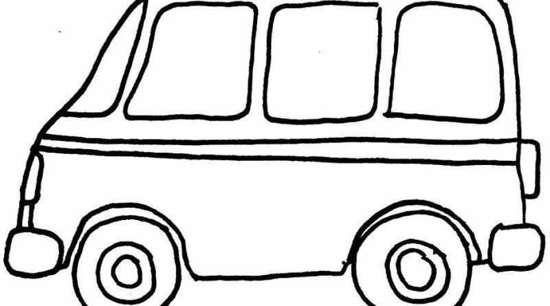 Transportes Por Tierra Para Colorear: Transportes Por Tierra Para Colorear Escuela En La Nube