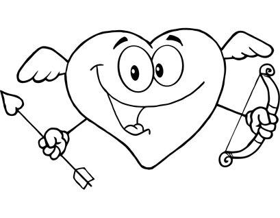 Dibujos De San Valentin Para Colorear Escuela En La Nube