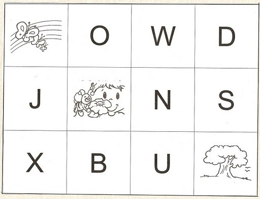 letras, abecedario, vocabulario, juego infantil
