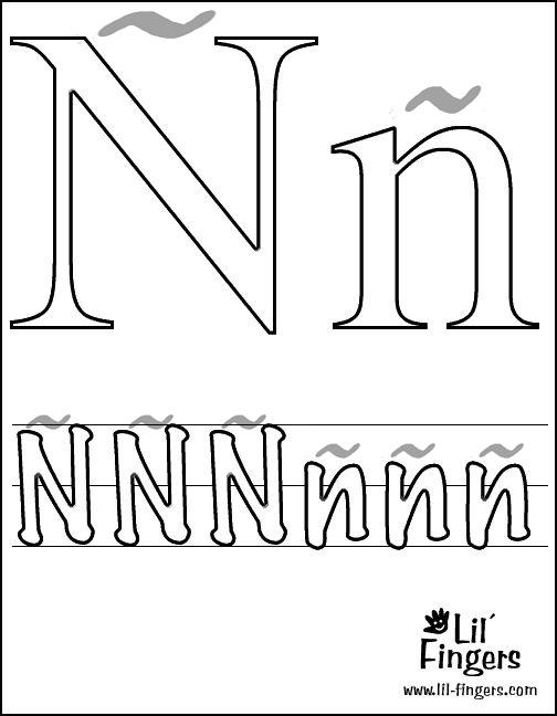 letras colorear14 2 23