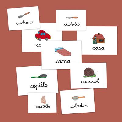letras, vocabulario, lengua