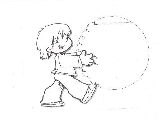 grafomotricidad, trazos, fichas infantil