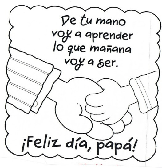 cartas,carteles para celebrar el Día del Padre