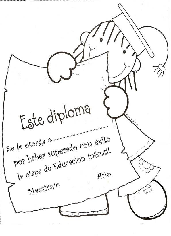 Recursos Para El Aula Diplomas Para Premiar A Los Ninos