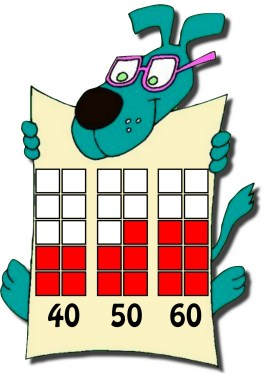 Números 40,50 y 60