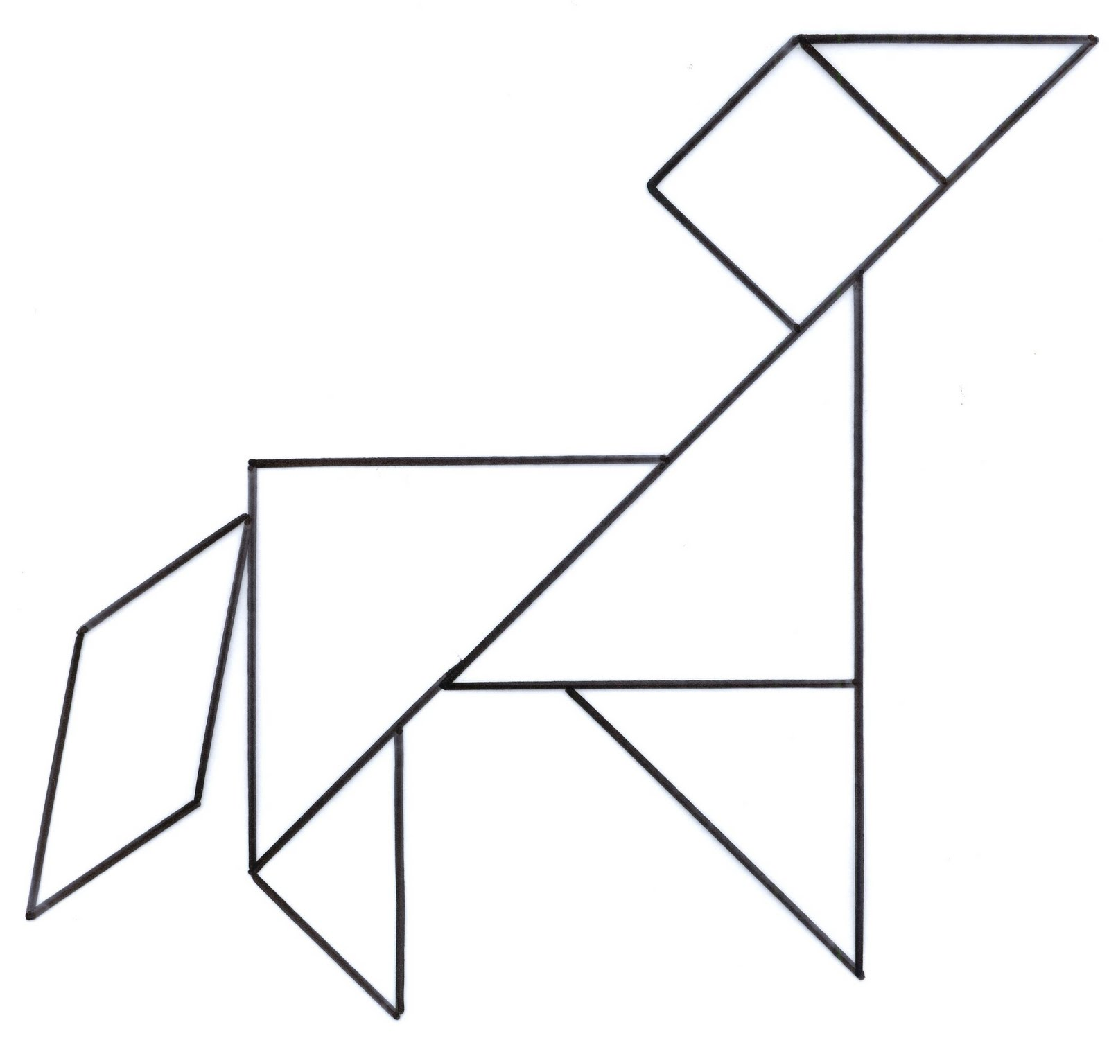 Images About Tangram