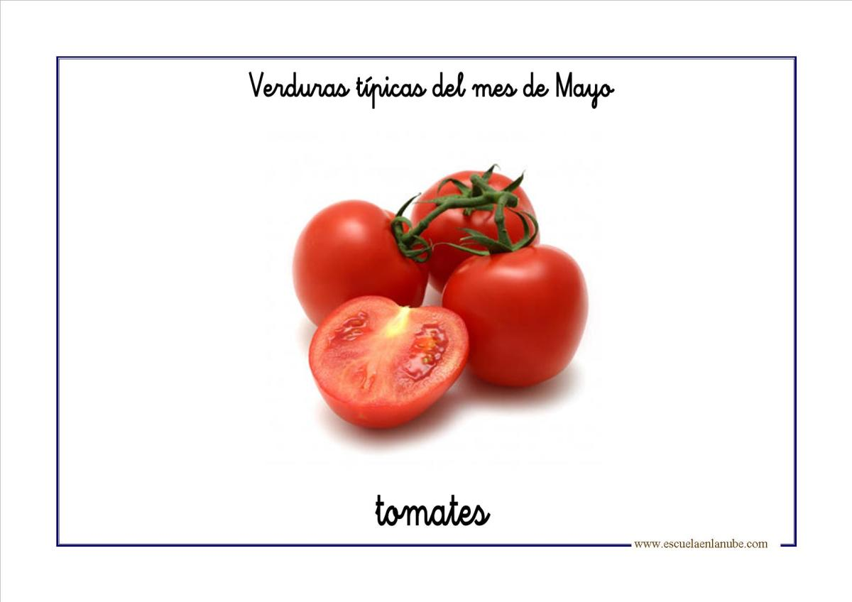 bits de vocabulario: Las verduras