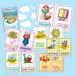 Vocabulario básico en verano para infantil