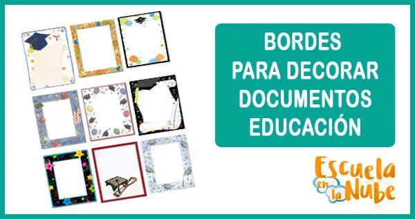 bordes, graduación, decorar documentos