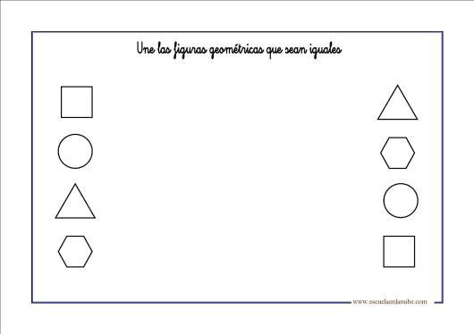 Fichas de infantil y primaria: Figuras geometricas