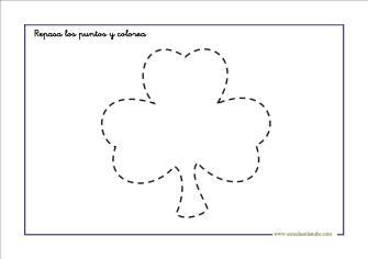 grafomotricidad: Repasa y colorea