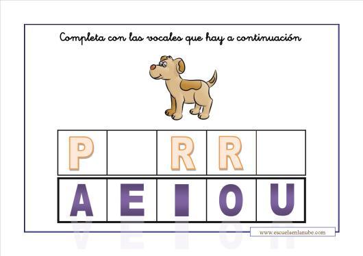 completa las vocales_perro