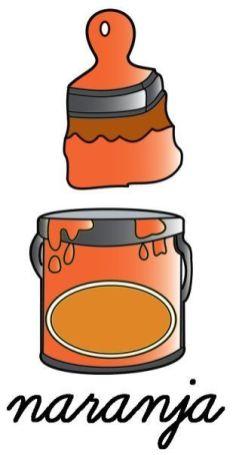 fichas para repasar los colores 040