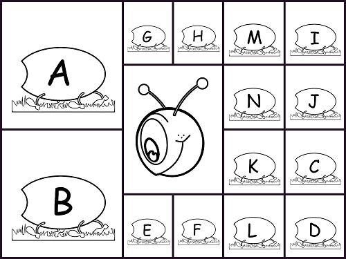 abecedario, letras, alfabeto