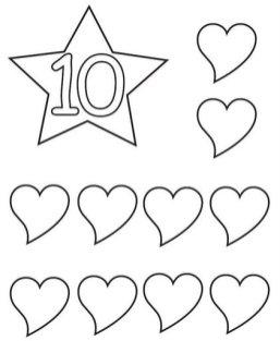contar caligrafia 10