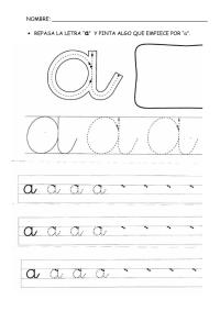 Letra A 10