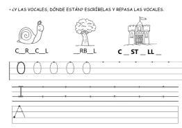 las vocales letra O 08