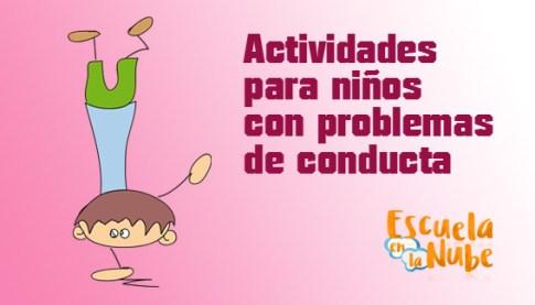 problemas de conducta, estrategias para niños con problemas de conducta
