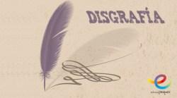 disgrafía