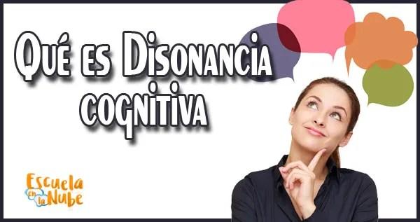 Disonancia Cognitiva