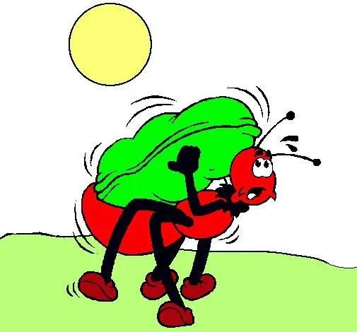 fábula de la hormiga