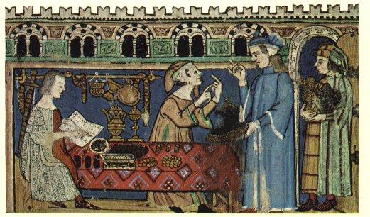 La usura en la Edad Media (Fuente: https://i0.wp.com/www.escuelapedia.com/wp-content/uploads/2011/05/Usura.jpg)