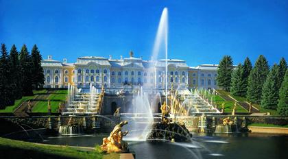 I palazzi e i giardini di Peterhof