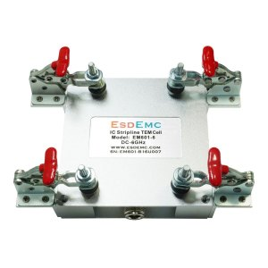 EM601-6 IC Stripline TEM Cell (DC-6 GHz, 5kV Pulse)