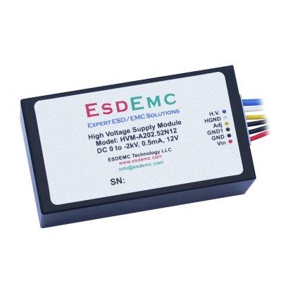 2kV 电压可调高精度高压DC模块电源
