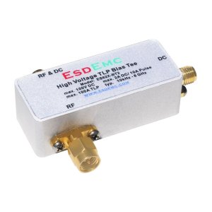 ES62X-BT2 高压 TLP 偏置三通,10 kHz - 6 GHz,100V