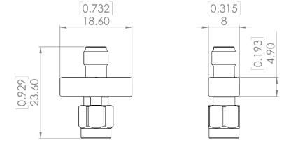 TVS-15G 瞬态电压抑制器,DC - 15 GHz