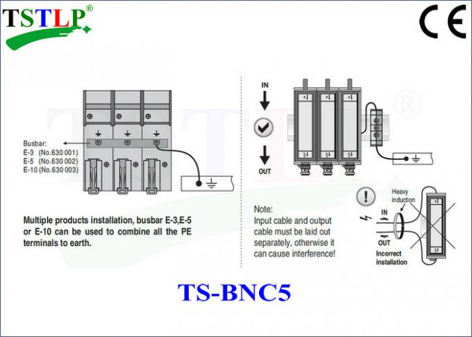 Coaxial Transmission Devices Lightning Surge Protector