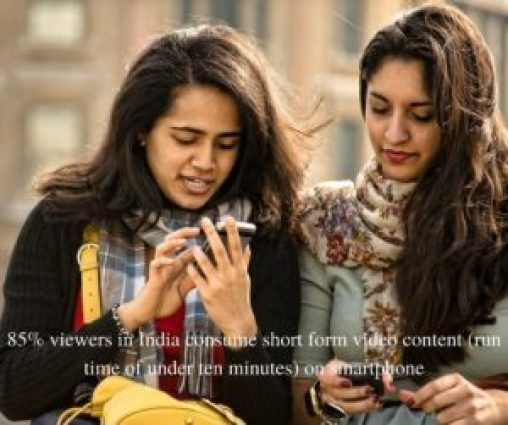 85% of indian viewers consume short form videos