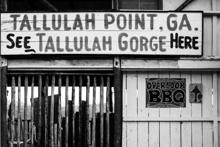 Tallulah Gorge Store, GA Nov 2014 - Converted from color