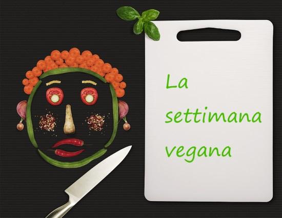 dieta vegana settimanale