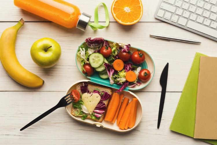 preparare un lunch box dietetico